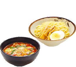 唐辛子つけ麺