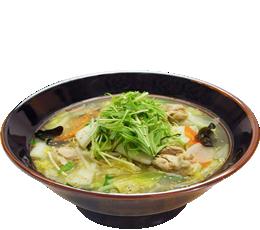 野菜鶏そば(しお)